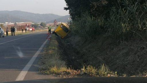 accidente de bus en viladecans, viladecans noticias, noticias viladecans