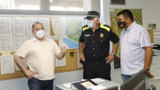 La policía local de Viladecans ha interpuesto un total de 1.607 sanciones durante el estado de alarma, noticias viladecans., viladecans noticias