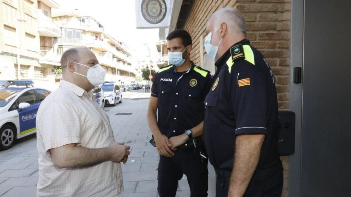 La policía local de Viladecans ha interpuesto un total de 1.607 sanciones durante el estado de alarma, viladecans news, noticias viladecans., viladecans noticias