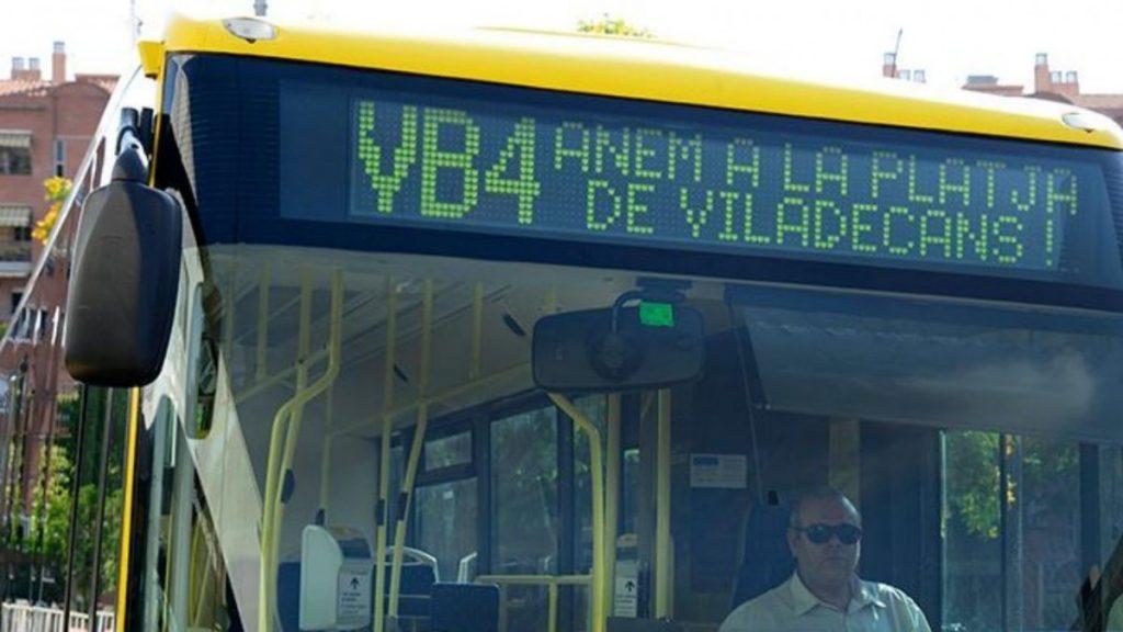 Mañana inicia el servicio de la línia VB4, noticias viladecans, viladecans noticias, viladecans
