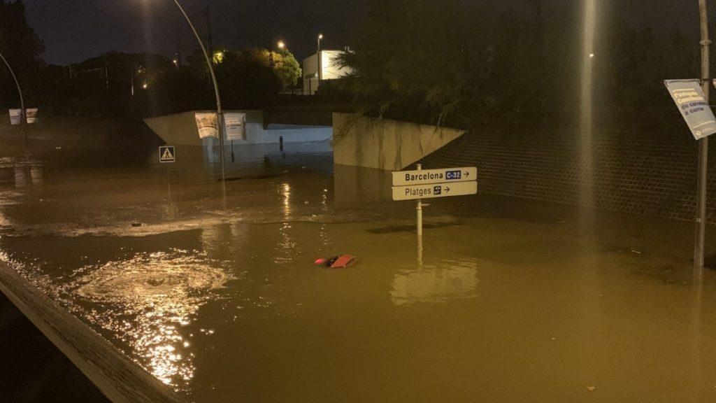 Gran inundación en el Baix Llobregat - Viladecans News