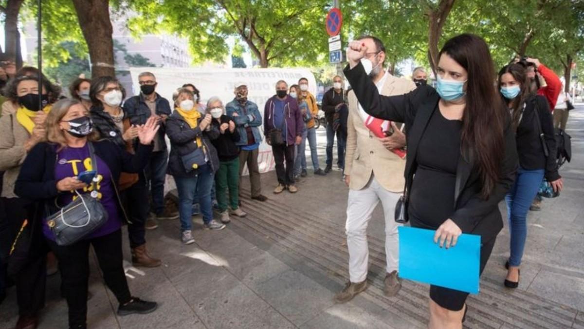 Tamara Carrasco, vecina de Viladecans, absuelta dos años y medio después de ser detenida, Viladecans News, viladecans noticias, noticias viladecans