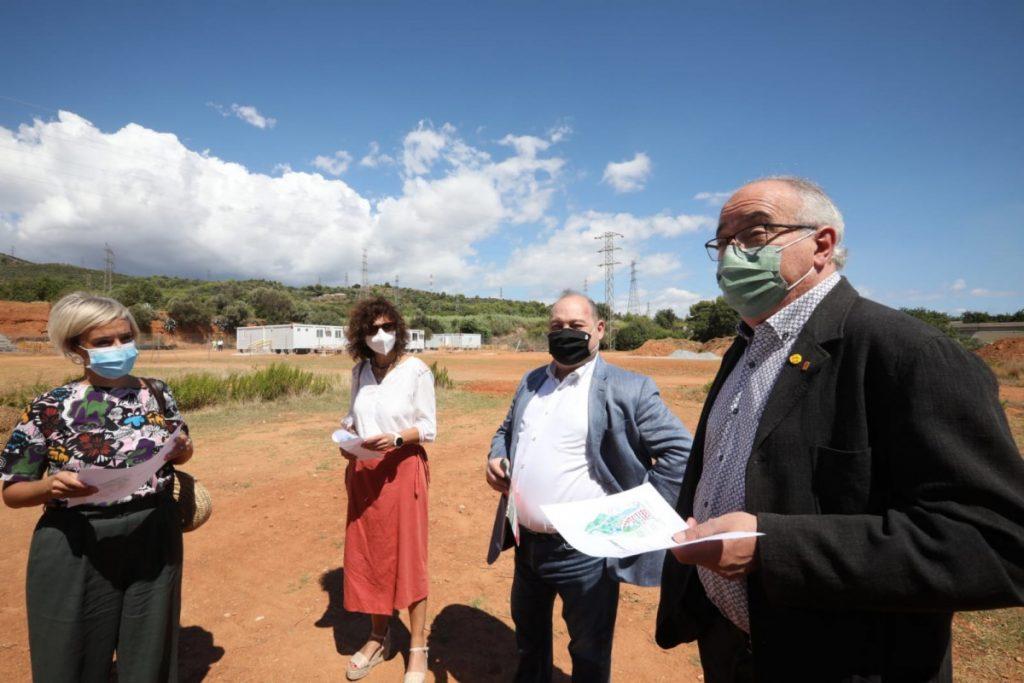 El conseller d'Educació Josep Bargalló en Viladecans - Viladecans News