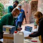 Donación de material sanitario en Viladecans - Viladecans News