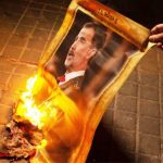CDR de Viladecans se concentra en el Ayuntamiento para quemar fotos del Rey Felipe, Viladecans News, viladecans noticias, noticias viladecans