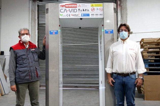 Tunel desactivador de coronavirus - Viladecans News