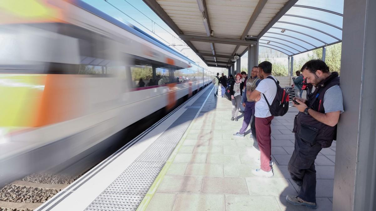 Estación tren Viladecans - Viladecans News
