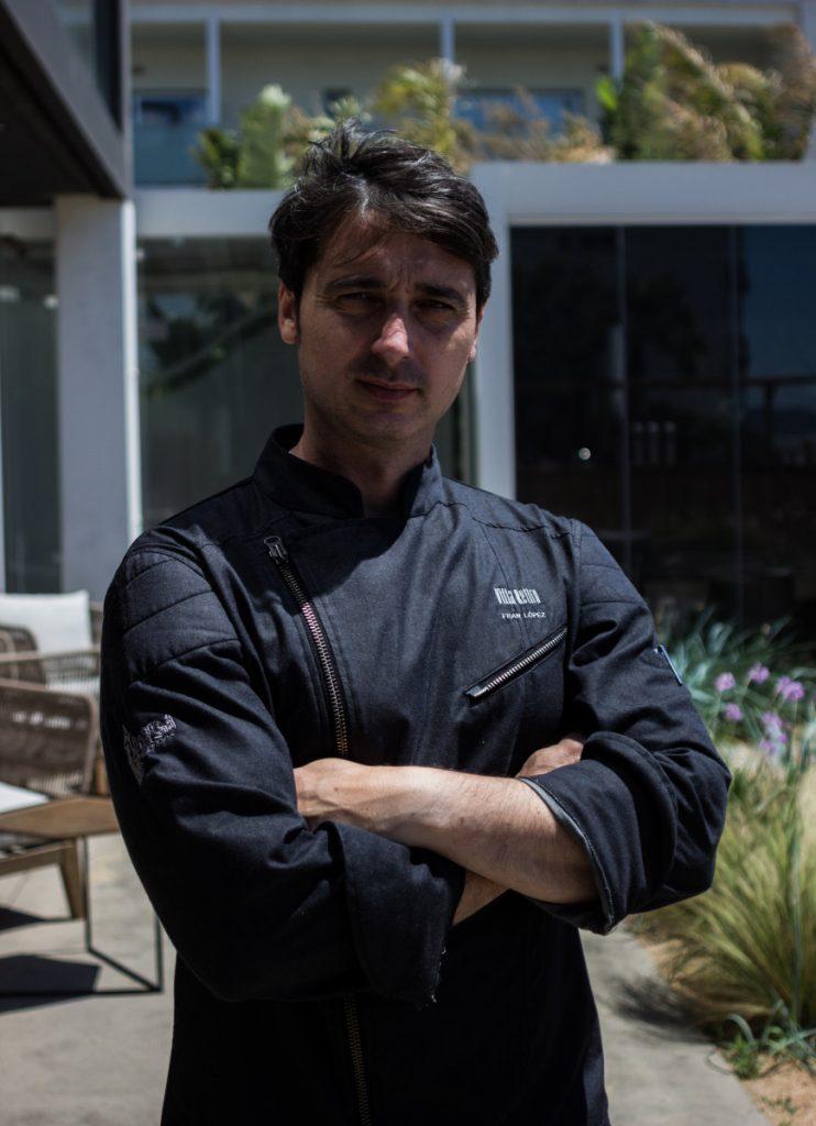 Fran López, chef con dos estrellas Michellin en Xalar Restaurant Castelldefels