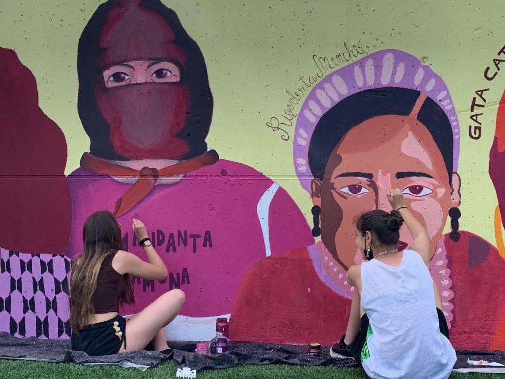 MuralFeministaViladecansNews - Viladecans News